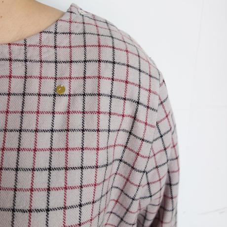 Slow Hands tattersol wool blouse