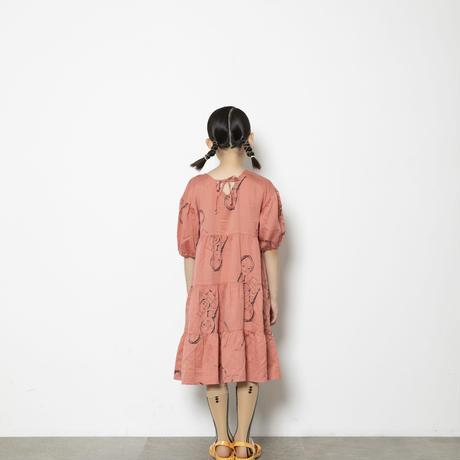 face print dress  大人レディースサイズ