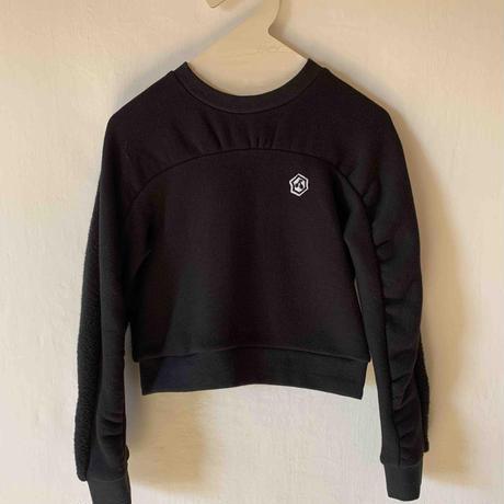 oval warm tops 黒 Lサイズ