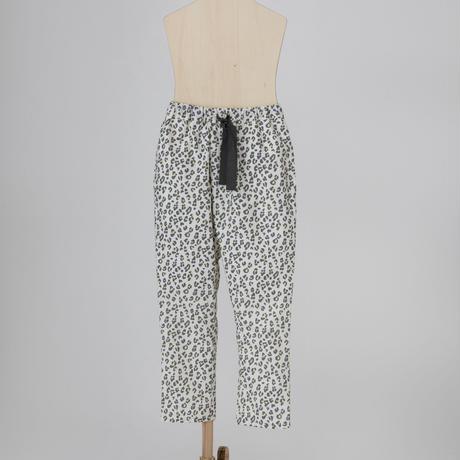 leopard jodhpurs pants ホワイト LLサイズ