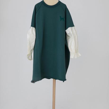 switch dress ブルーグリーン LLサイズ