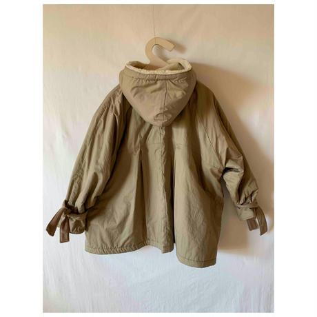 boa short coat ベージュ Lサイズ