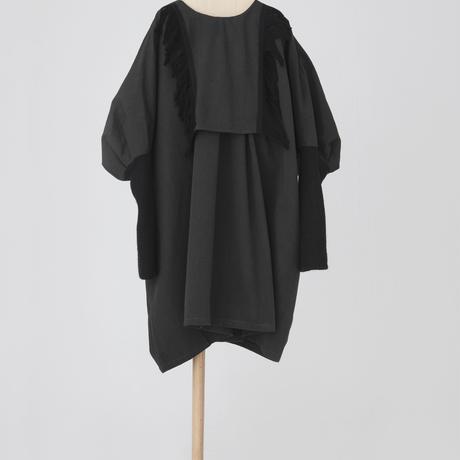 fringe dress ブラック LLサイズ