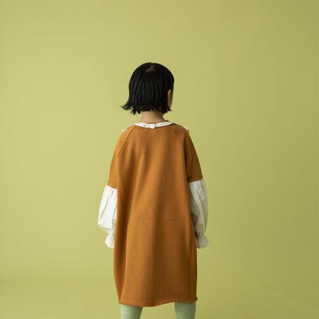 switch dress オレンジブラウン