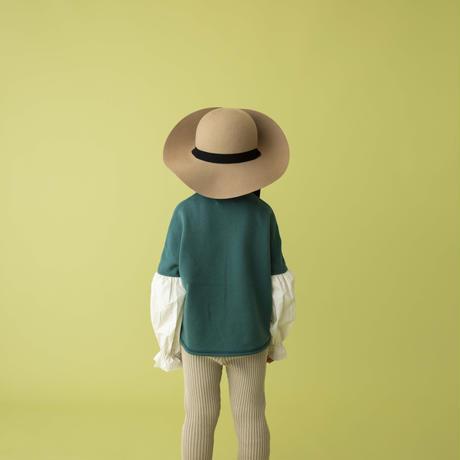 switch pullover ブルーグリーン