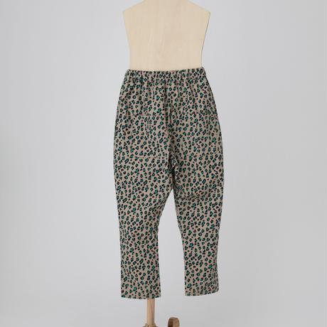 leopard jodhpurs pants ベージュ LLサイズ