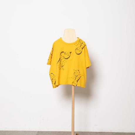 face print T-shirts M・Lサイズ