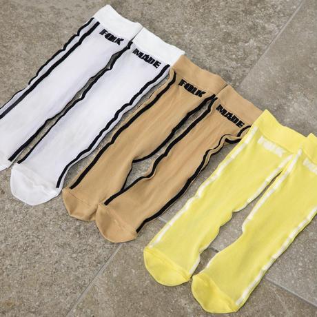 soft touch logo socks