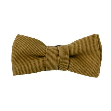 FT04070401 / TWILL  KIDS BOW- espresso coffee -