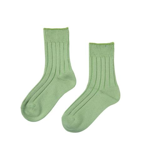FT04100614_S / SOCKS- green tea -