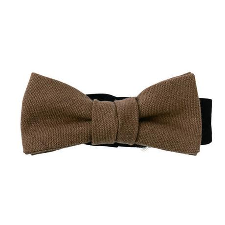 COTTON LINEN BOW  - KIDS -
