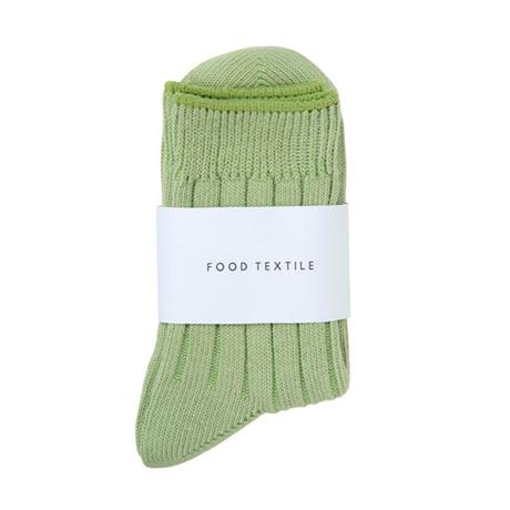 FT04100614_L / SOCKS- green tea -