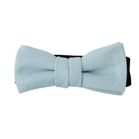 FT04070408 / TWILL KIDS  BOW-blue mallow-