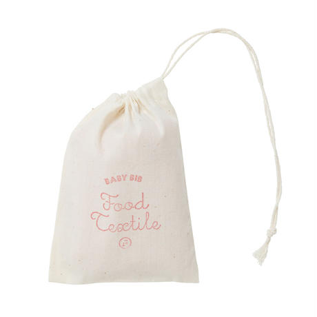 FT03010713A / BABY BIB A -  cherry blossoms  -