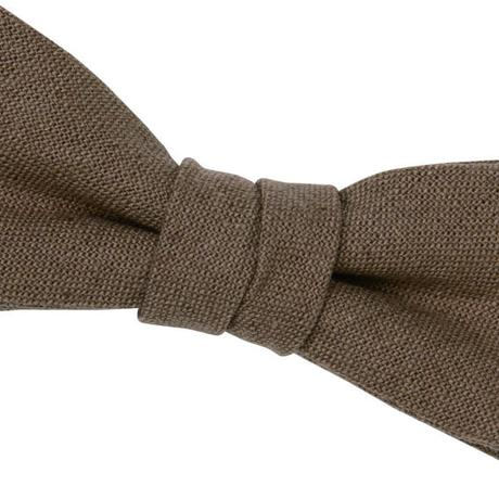 FT04070302 / COTTON LINEN KIDS BOW-drip coffee-