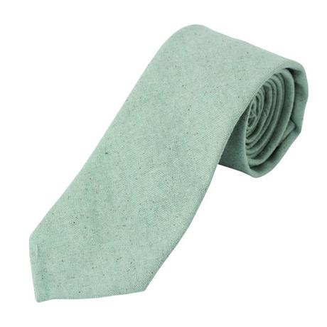 FT04050308 / COTTON LINEN TIE-blue mallow-