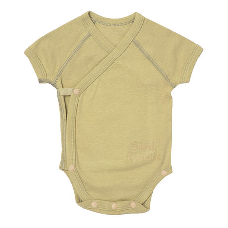 FT03050714 / ROMPERS  & 2 BIB SET - green tea -