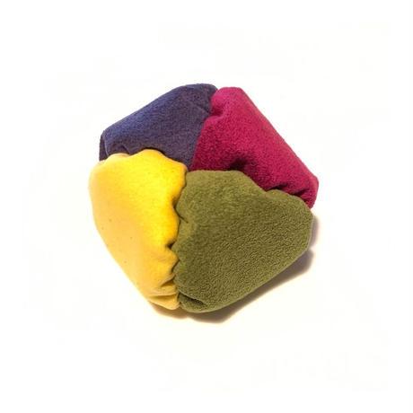 fuwafuwa〈黄×抹茶×葡萄染×赤紫〉