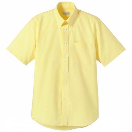【Natural Smile】CASUAL SHIRT(Yellow)/オックスフォード半袖シャツ(イエロー)