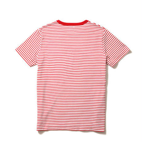 【Lee】T-SHIRTS(Red×White)/Tシャツ 半袖(レッド×ホワイト)