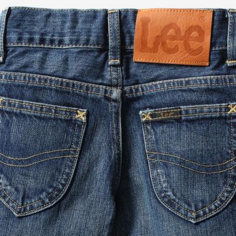 【Lee Kids】TAPERED(D.USED)/ベーシックテーパード(濃色ブルー)110〜120size