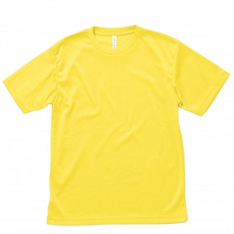 【Natural Smile】LIGHT DRY T-SHIRT(Yellow)/ライトドライ Tシャツ(イエロー)