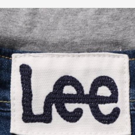 【Lee Kids】RIB STRETCH TAPERED(D.USED)/ベーシックリブストレッチテーパード(濃色ブルー)130〜160size