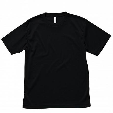 【Natural Smile】LIGHT DRY T-SHIRT(Black)/ライトドライ Tシャツ(ブラック)