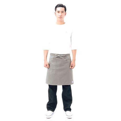 【Lee】MIDDLE APRON(Gray)/ミドルエプロン(グレー)