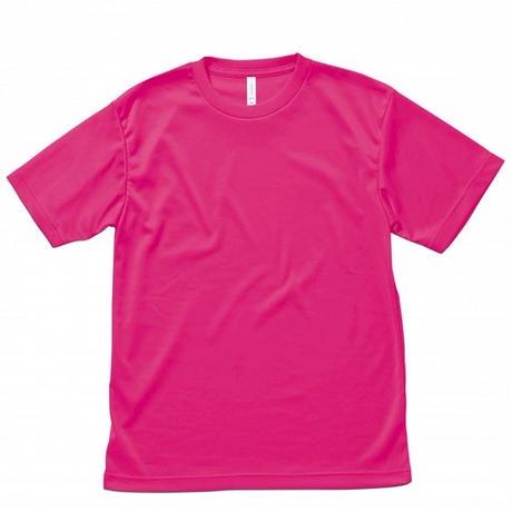 【Natural Smile】LIGHT DRY T-SHIRT(Shocking Pink)/ライトドライ Tシャツ(ショッキングピンク)