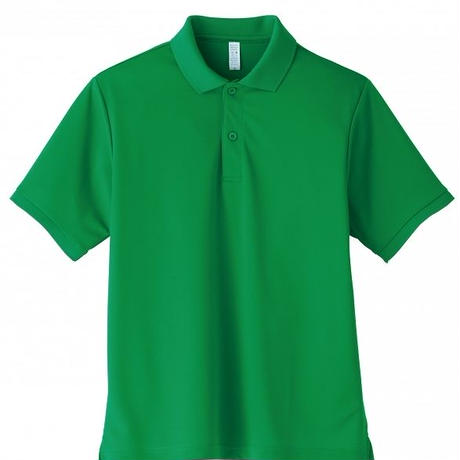 【Natural Smile】UNISEX POLO SHIRT(Green)/ポロシャツ ユニセックス(グリーン)