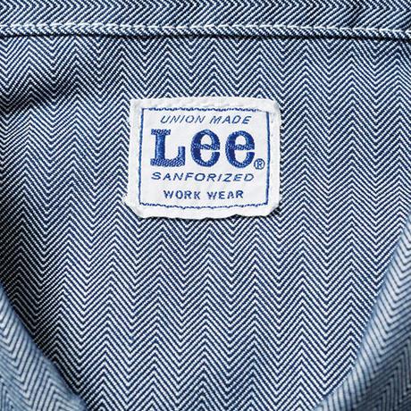 【Lee】LADIES ZIP-UP JACKET(BLACK)/レディースジップアップジャケット(ブラック)