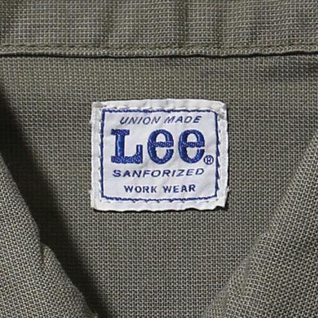 【Lee】MENS ZIP-UP JACKET(KHAKI)/メンズジップアップジャケット(カーキ)