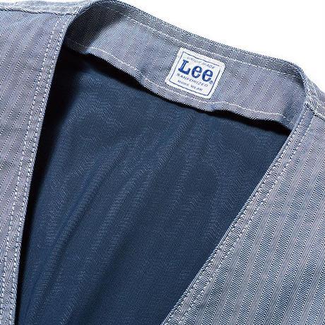 【Lee】ZIP-UP VEST(Indigo Navy)/ジップアップベスト(インディゴネイビー)