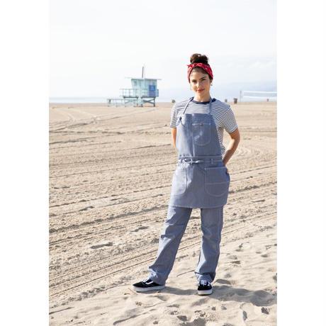 【Lee】T-SHIRTS(Navy×White)/Tシャツ 半袖(ネイビー×ホワイト)