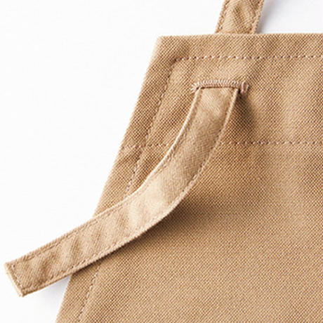 【Natural Smile】2WAY APRON(Red)/2ウェイエプロン(レッド)