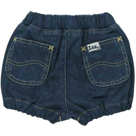 【Lee Baby】BLOOMER SHORTS(D.USED)/ベビーブルマショーツ(濃色ブルー)80〜90size