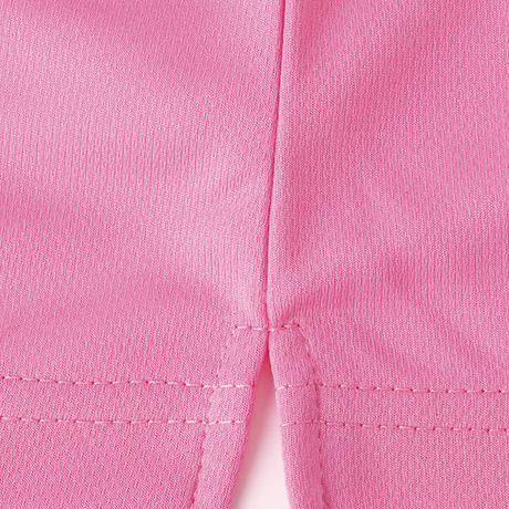 【Natural Smile】UNISEX POLO SHIRT(Light Pink)/ポロシャツ ユニセックス(ライトピンク)