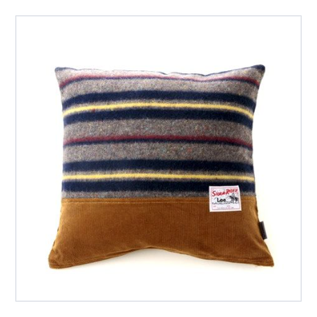 【ForWORKERS×Lee】 CUSHION COVER/CORDUROY  クッションカバー/ストムライダー