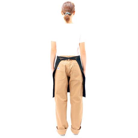 【Lee】MIDDLE APRON(Black)/ミドルエプロン(ブラック)