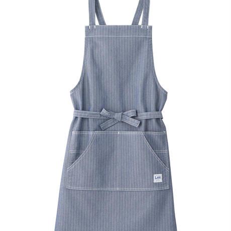 【Lee】BIB APRON(Blue)/胸当てエプロン(ブルー)
