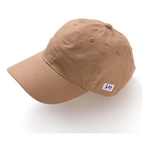 【Lee】 BASEBALL CAP(Camel)/ベースボール キャップ(キャメル)