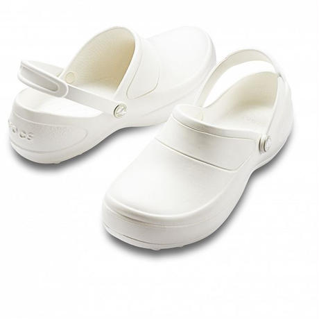 【Natural Smile】CROCS MERCY WORK(White)/クロック マーシーワーク(ホワイト)