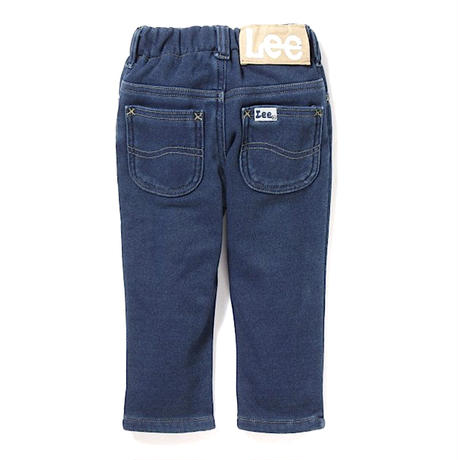 【Lee Kids】STRAIGHT(D.USED)/ストレートウォーム(濃色ブルー)110〜120size