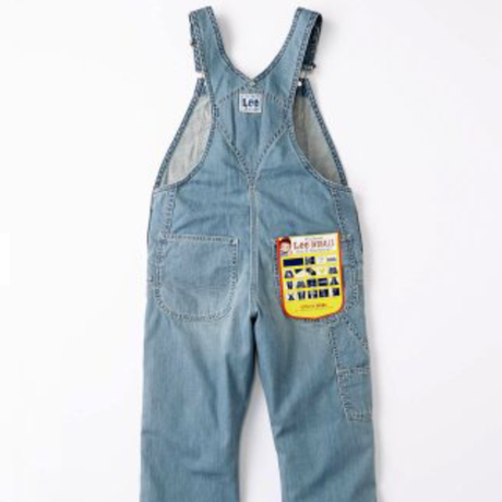 【Lee Kids】OVERALLS(Light Used)/オーバーオール(淡色ブルー)