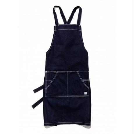 【Lee】BIB APRON(Indigo Navy)/胸当てエプロン(インディゴネイビー)