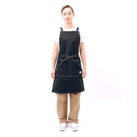 【Lee】BIB APRON(Black)/胸当てエプロン(ブラック)