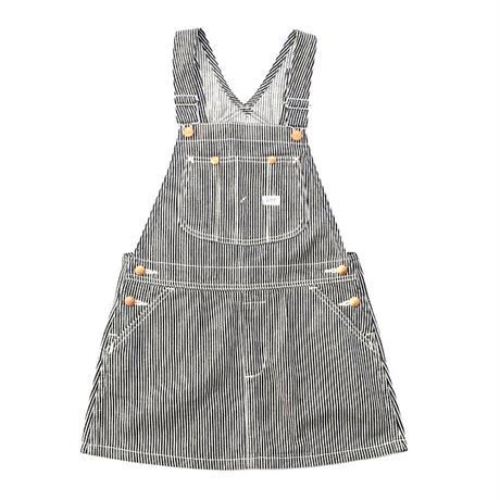 【Lee Kids】OVERALL SKIRT(HICKORY)/オーバーオールスカート(ヒッコリー)130〜160size