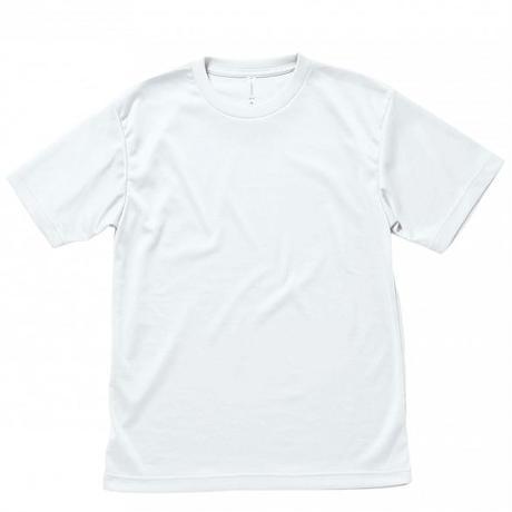 【Natural Smile】LIGHT DRY T-SHIRT(White)/ライトドライ Tシャツ(ホワイト)