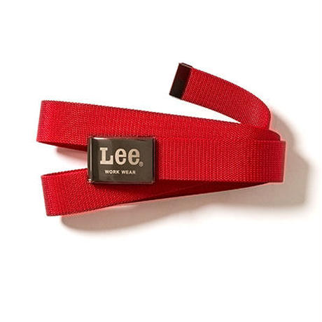 【Lee】BELT(Red)/ベルト ナイロン(レッド)